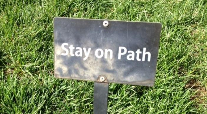 Stay on Path