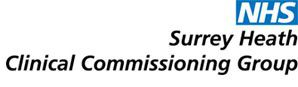 Surrey Heath Clinical Commissioning Group