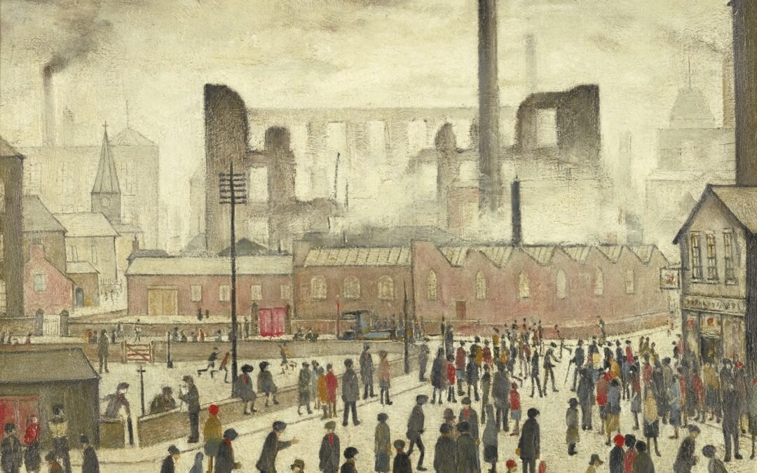 Lowry's Depiction of Working Class People